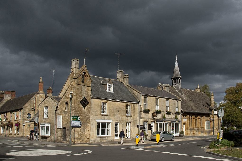 English market towns Moreton in Marsh