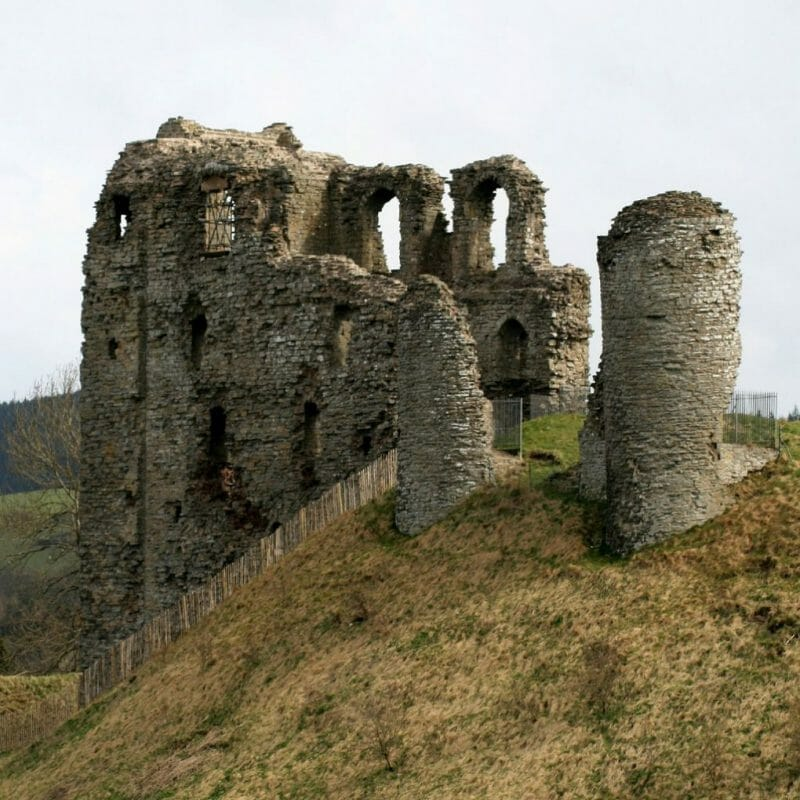 Clun Castle photo