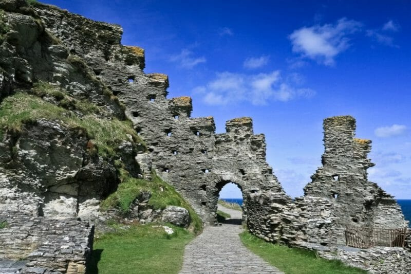 Tintagel Castle photo