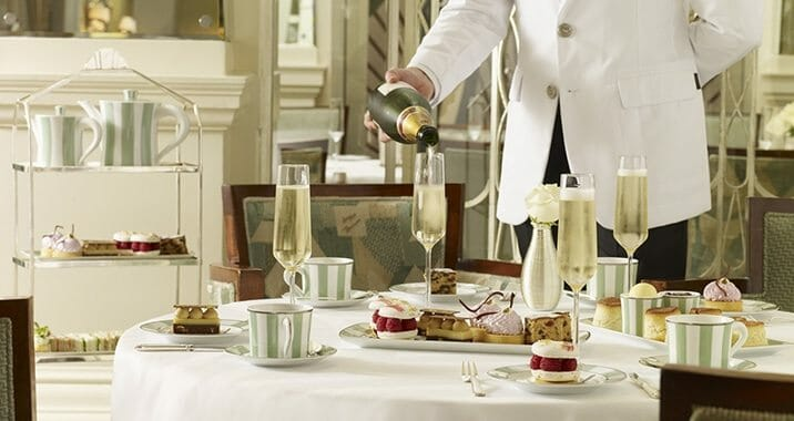 afternoon tea claridges london