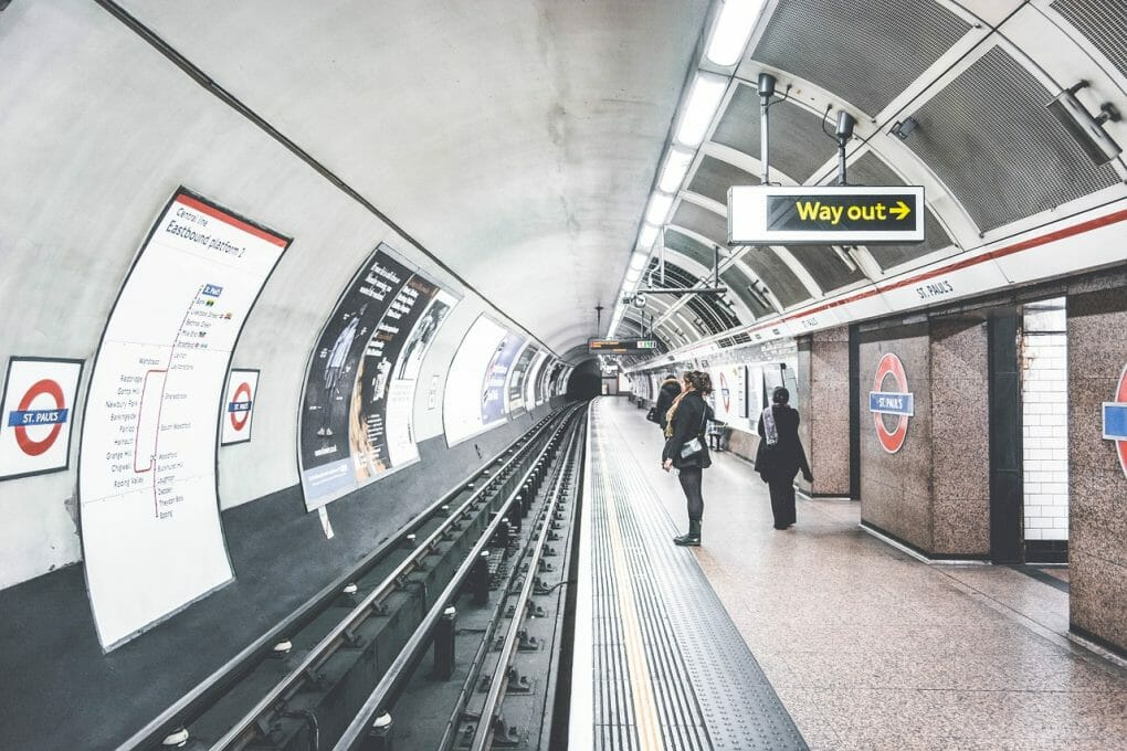 london underground photo