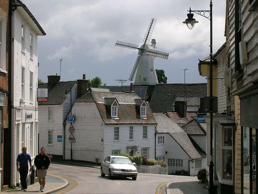 English market towns Cranbrooke, Kent