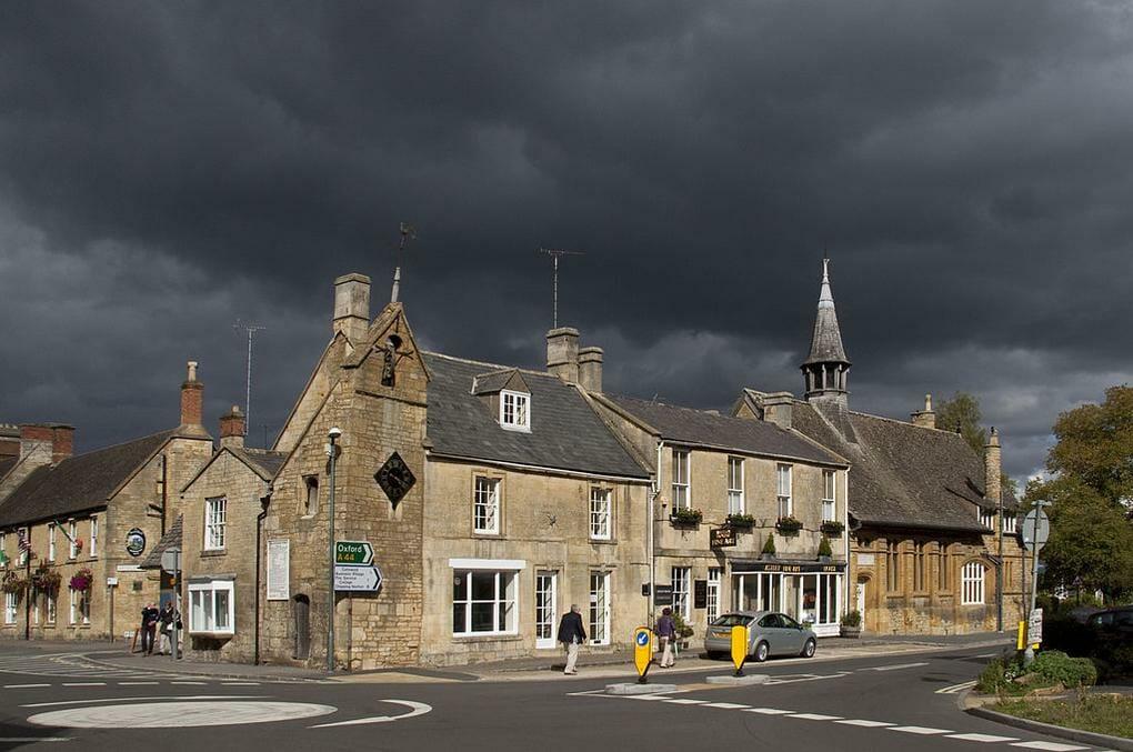 English market towns Moreton in Marsh
