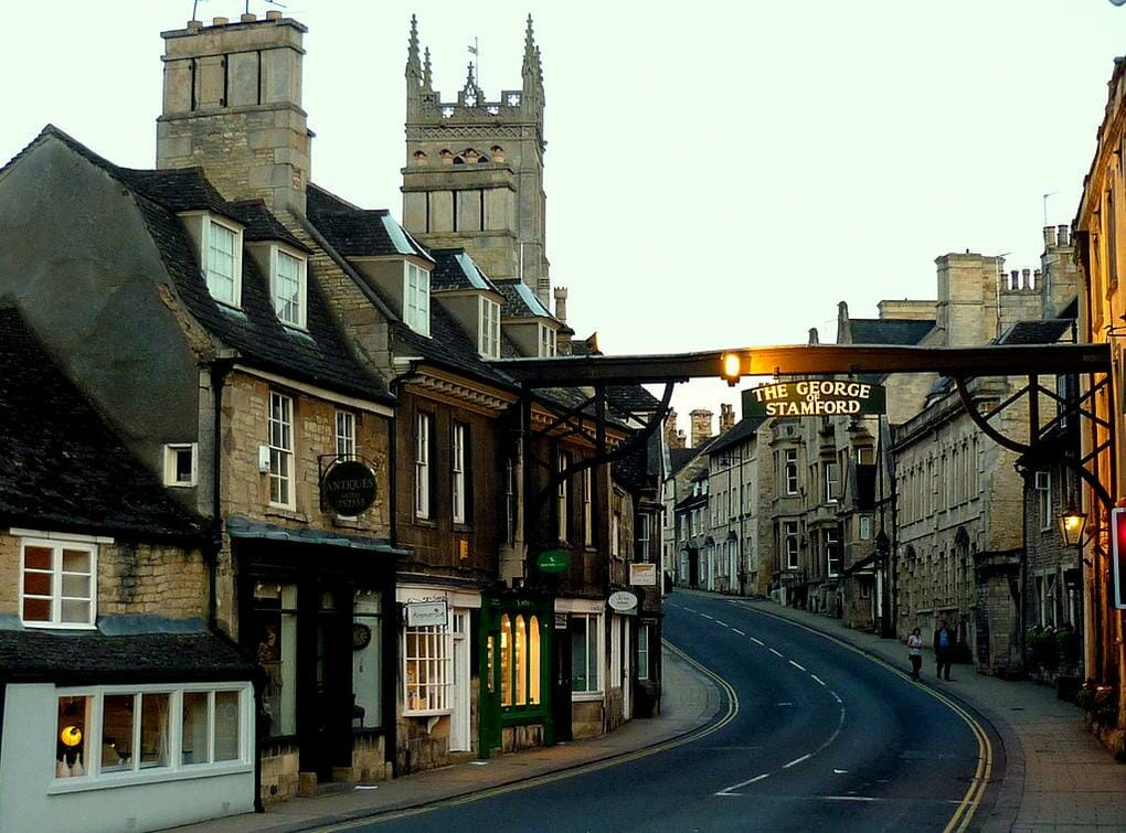 English market towns Stamford, Lincolnshire