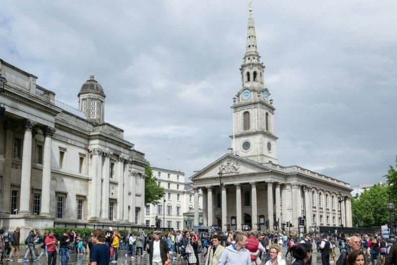 Trafalgar Square photo