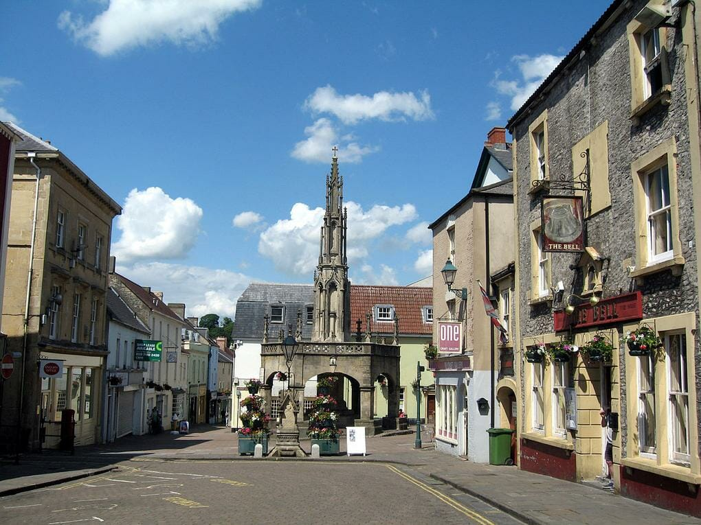 English market towns Shepton_Mallet