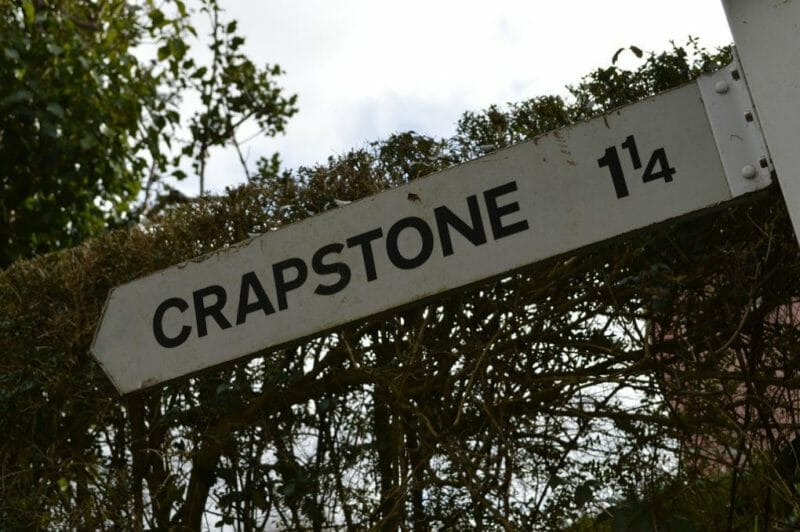 Strange English Place Names: Crapstone photo