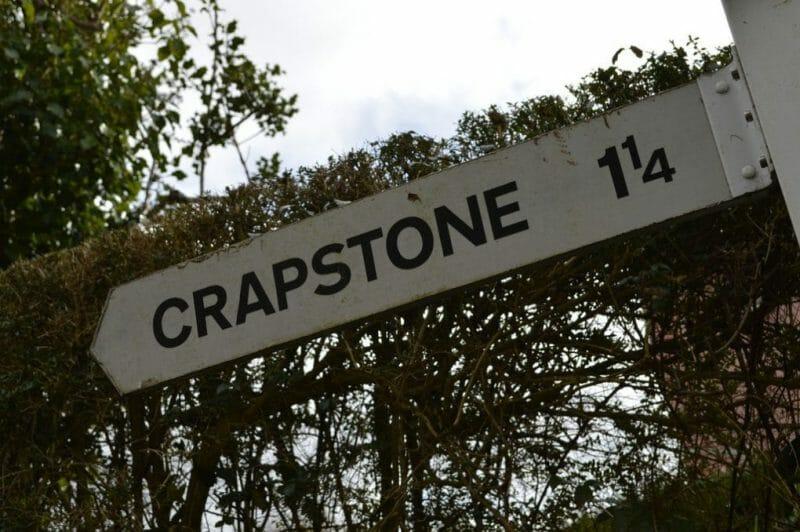 Strange English Place Names: Crapstone photo