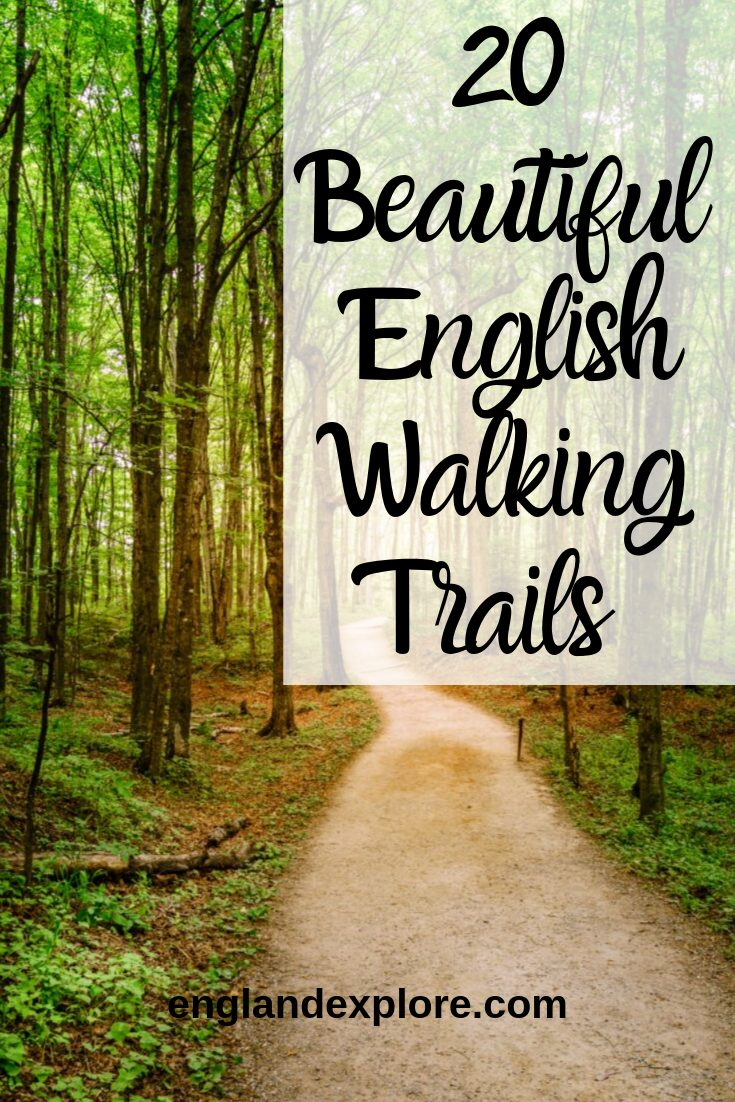 English walking trails