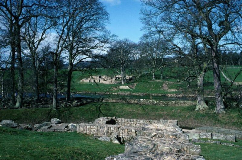 chester bridge Northumberland photo