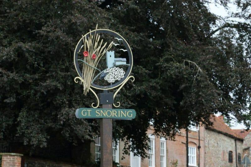 Strange English Place Names: Great Snoring photo