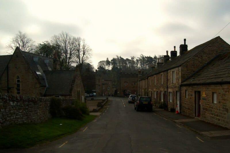 Strange English Place Names: northumberland village photo