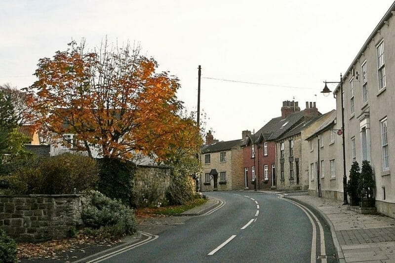 Strange English Place Names: yorkshire village photo