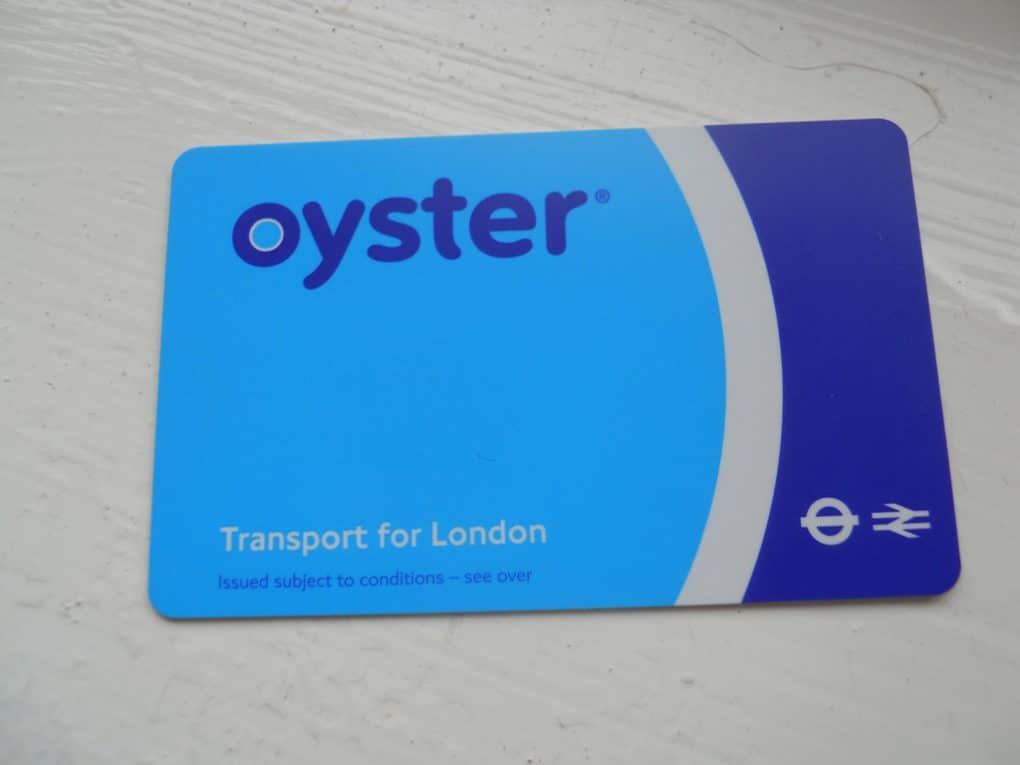 London travel tips: oyster card