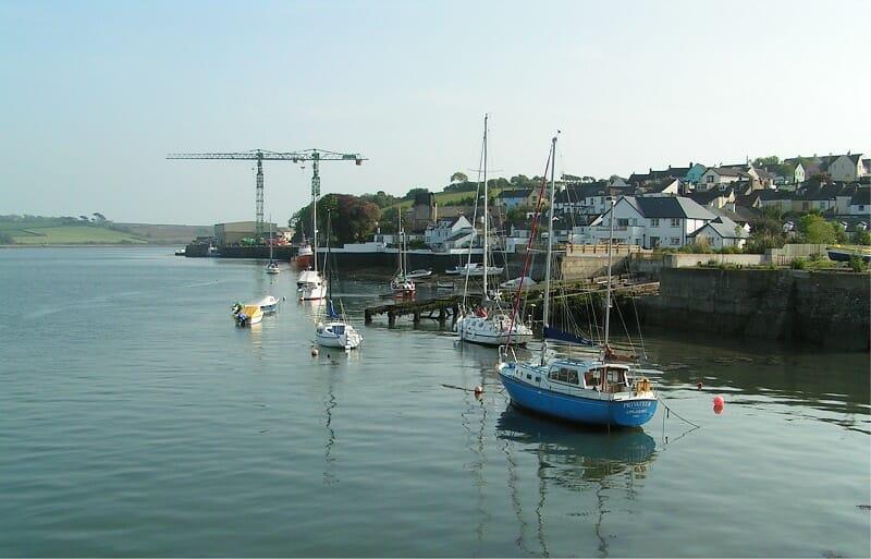 devon fishing village