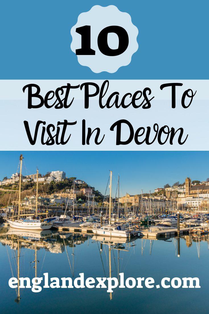 best places to visit in Devon