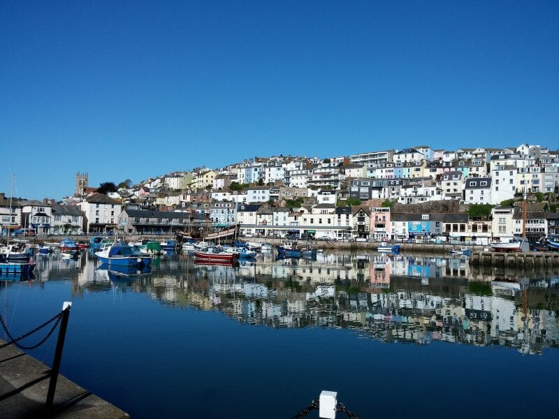 Brixham_harbour_in_summer
