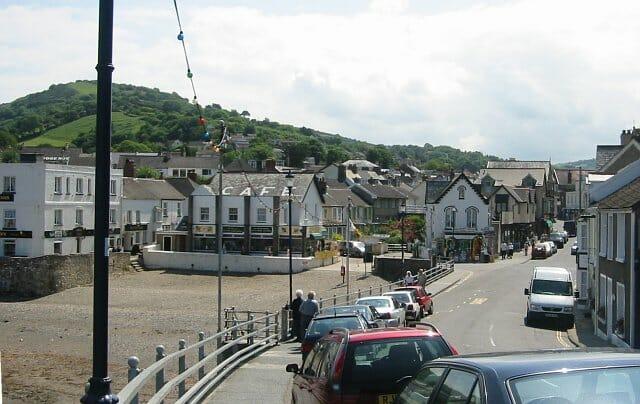 Combe_martin, a Devon village