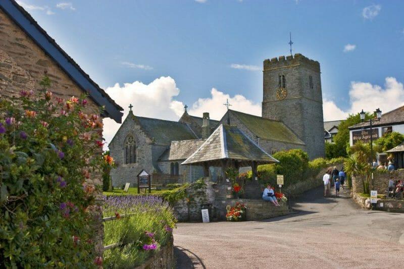 village in Devon