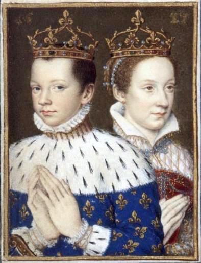 Mary Stuart and her husband, Francois