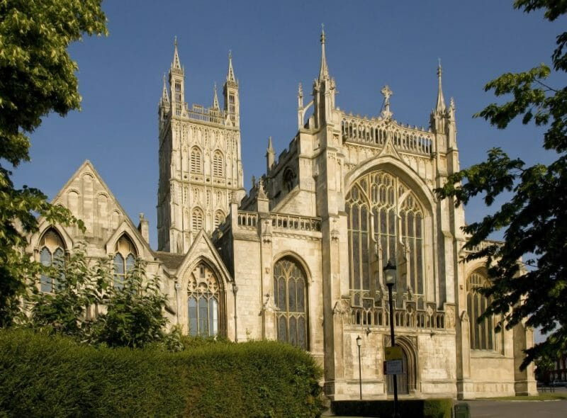 Famous Cathedral: Gloucester