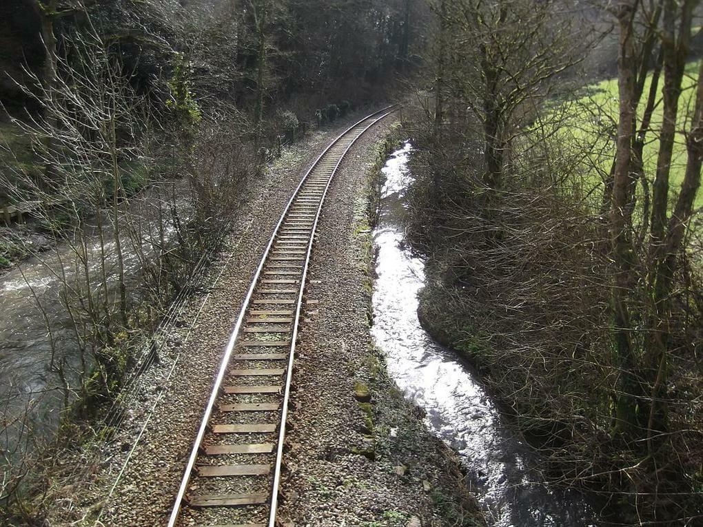 English rail journeys: Liskeard-to-Looe