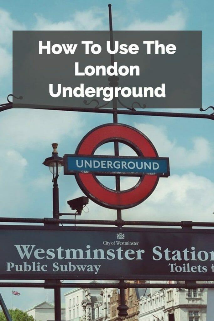 London Underground Pinterest