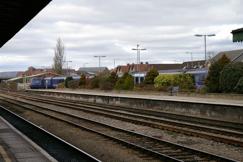 English rail journeys: Oxford-to-Hereford
