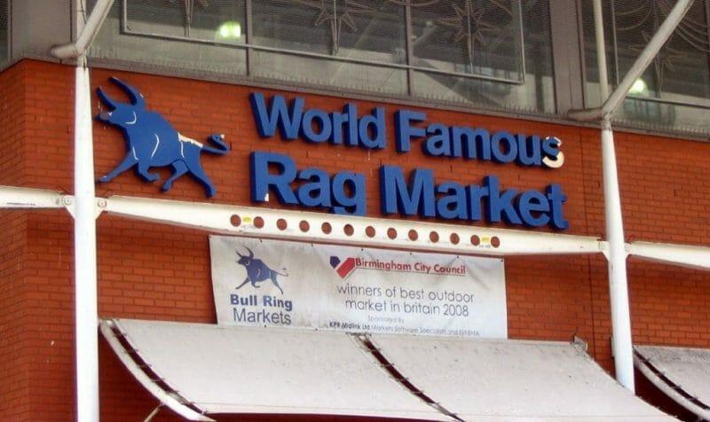 Birmingham: rag market