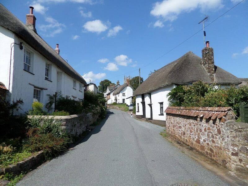 Sampford_Courtenay, Devon,_England