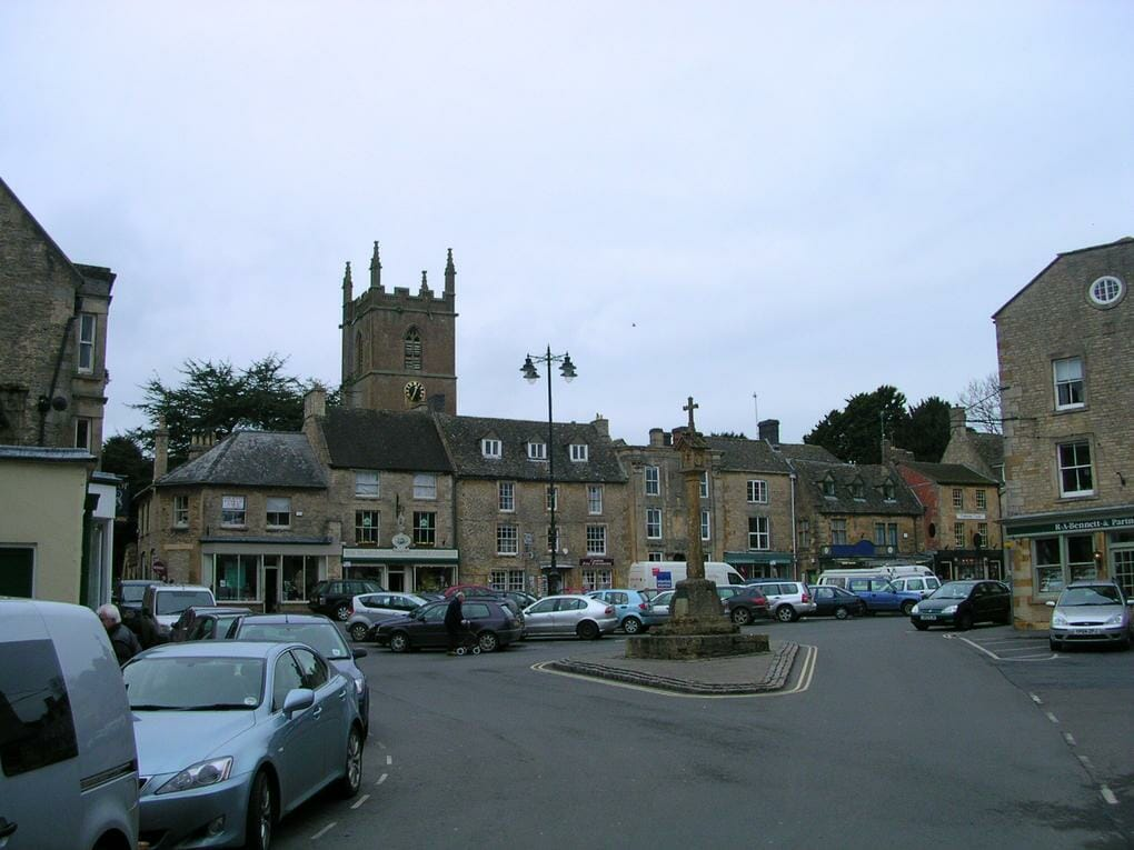 English market towns Stow-on-the-Wold
