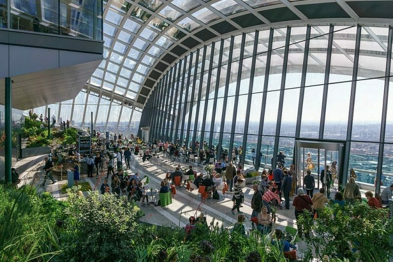 Londons sky garden