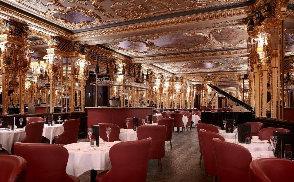 afternoon tea hotel cafe royal london