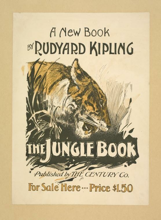 The Jungle Book, written by Rudyard Kipling In Brown's Hotel.