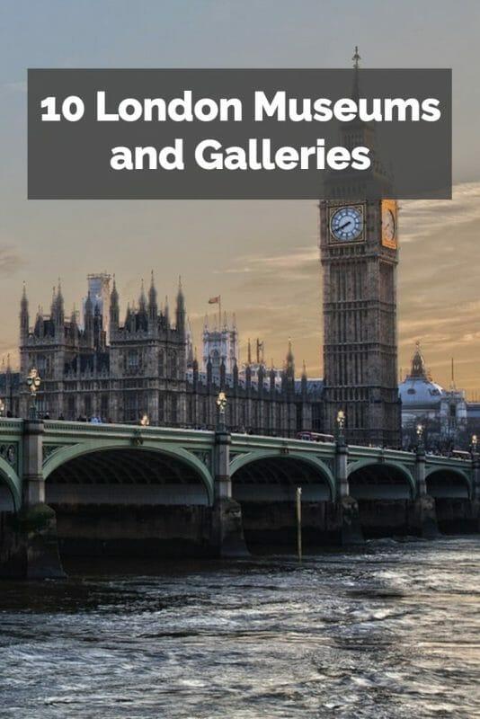 london museums pin