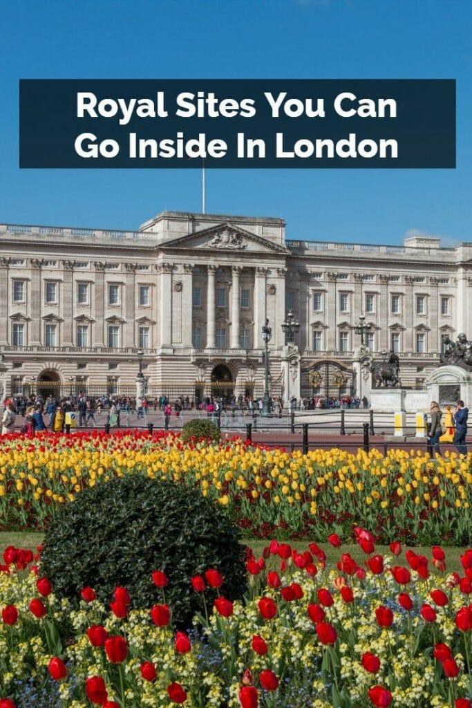 London Royal Sites