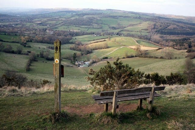 A Walking Trail In England