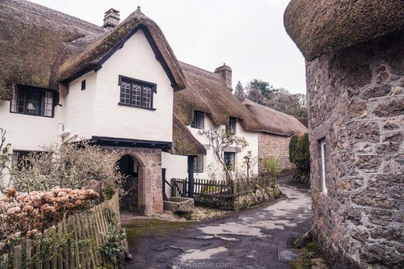 Lustleigh in Devon